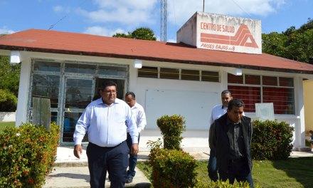 Atiende Toño Aguilar petición de Centro de Salud