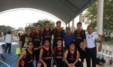 Tuxpan varonil, a la olimpiada Estatal de baloncesto