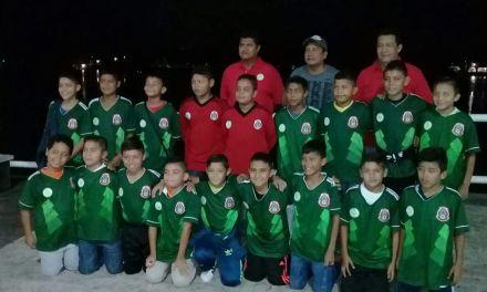 Lista la selección tuxpeña de futbol, categoría 2007, para evento nacional