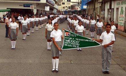 Conmemoran 50 Aniversario de Telesecundarias