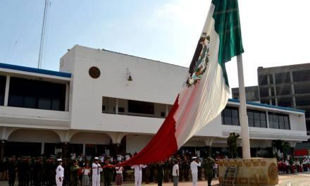 Solemne ceremonia del 197 aniversario del Día de la Bandera
