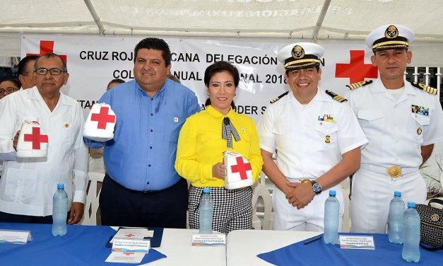 Inicia Colecta Nacional Cruz Roja 2018