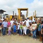 Toño Aguilar inauguró Programa de Acción Ciudadana