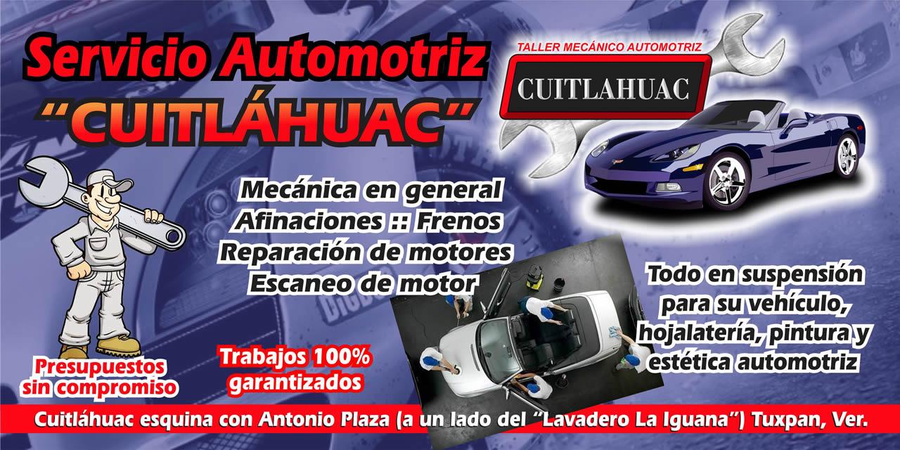Servicio Automotriz Cuitlahuac