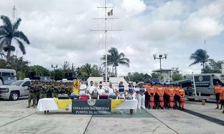 """SEMAR pone en marcha """"Operación Salvavidas Semana Santa 2018""""."""