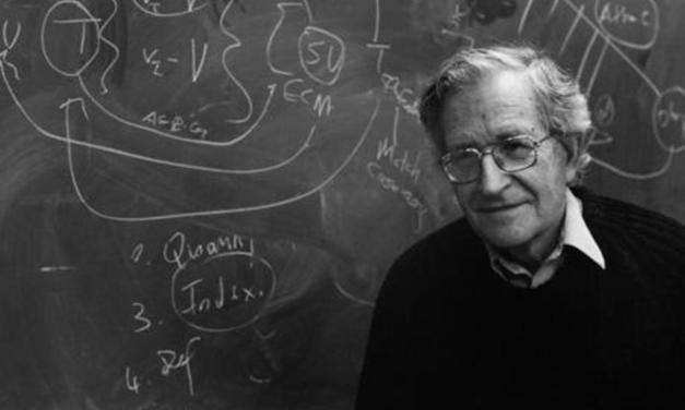 Las 10 estrategias de manipulación mediática: Noam Chomsky