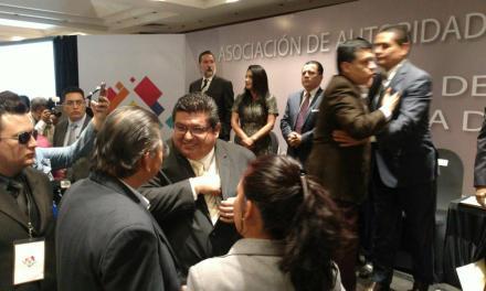 Toño Aguilar toma protesta como Vicepresidente Nacional de la AALMAC
