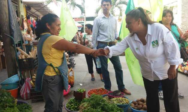 Maryanela Monroy: Lucharé por la creación de bancos de alimentos