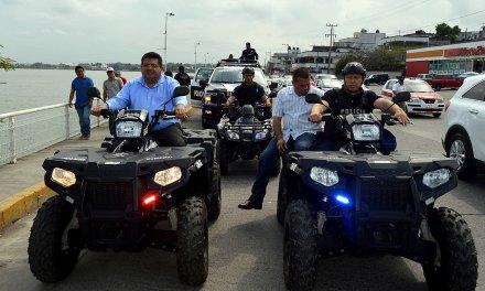 Toño Aguilar puso en marcha operativo Carnaval Tuxpan 2018