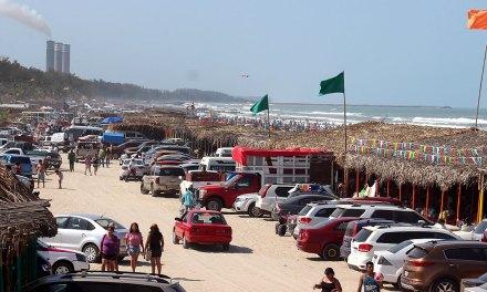 Más de 140 mil bañistas en las playas