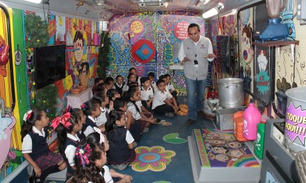 """Niños de preescolar y primaria reciben el programa """"No te quemes"""""""