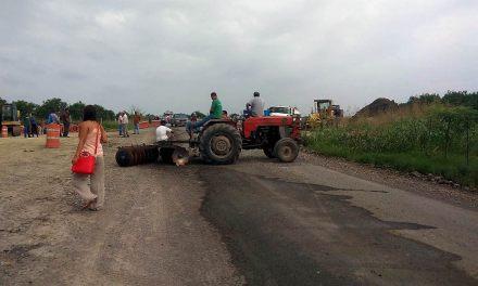 Bloquean trabajos de la Tuxpan-Tampico