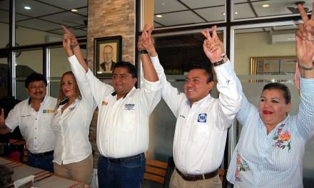 Reciben Clemente Campos respaldo de Pepe Mancha