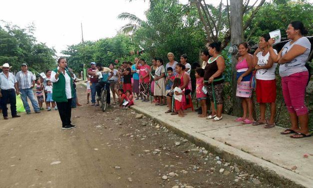 Productores del campo le apuestan al proyecto de Maryanela Monroy