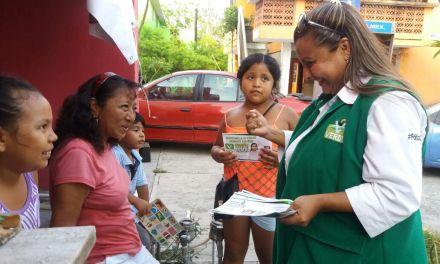 Maryanela Monroy supervisara que los proyectos sean aplicados correctamente