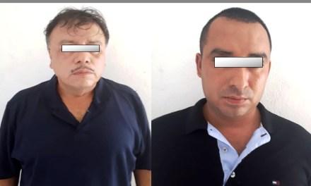 Los vinculan a proceso por robo de vehículo y ultrajes a la autoridad, en Tuxpan