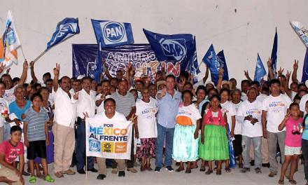 El cambio en Veracruz debe continuar con mayor fuerza: Arturo Esquitín