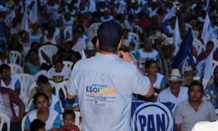 Estamos convencidos que vamos a ganar y que juntos seguimos transformando Veracruz: Arturo Esquitín