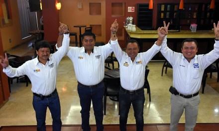Candidatos de PAN, PRD y MC van en Unidad: Clemente Campos