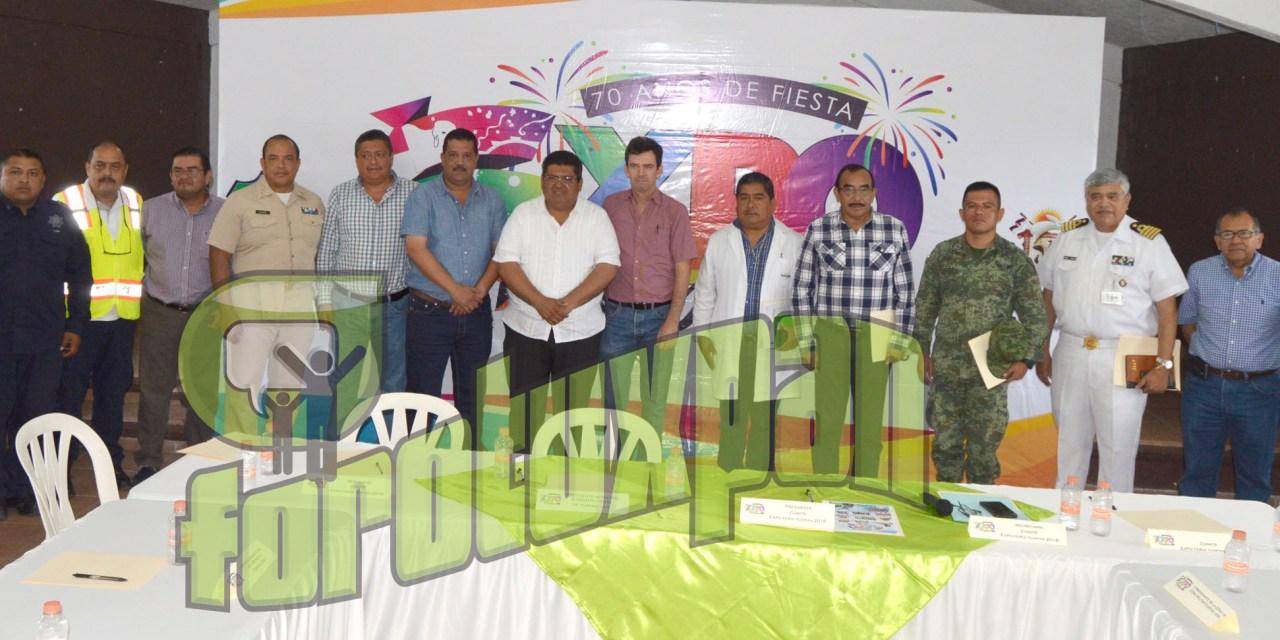 Demos a tuxpeños y turismo una feria segura: Toño Aguilar