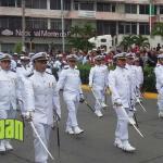 Desfile del 16 de Septiembre en Tuxpan Sin Incidentes