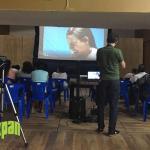 Cine comunitario en colonias de Tuxpan por el Instituto de la Mujer