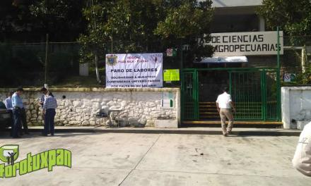 UV Realiza Paro de Labores en Facultades de Tuxpan