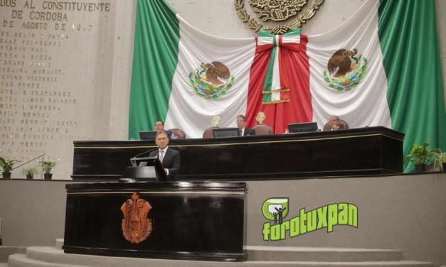 Comparecencia del Gobernador Yunes ante la LXV Legislatura