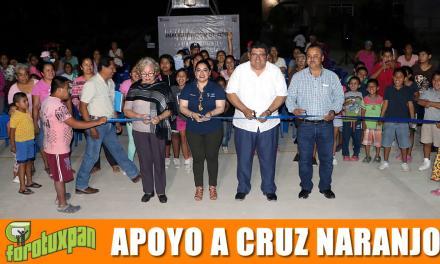 Primer alcalde que apoya a Cruz Naranjos