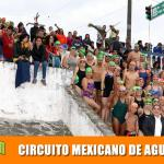 Con gran éxito Circuito Mexicano de Aguas Abiertas