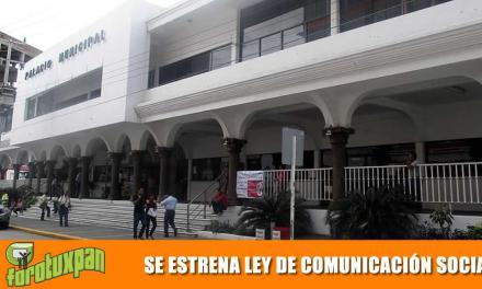 La nueva Ley General de Comunicación Social es para establecer mejores canales de difusión hacia la sociedad.
