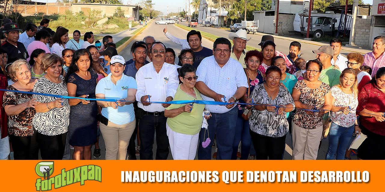 Inauguraciones que detonan desarrollo