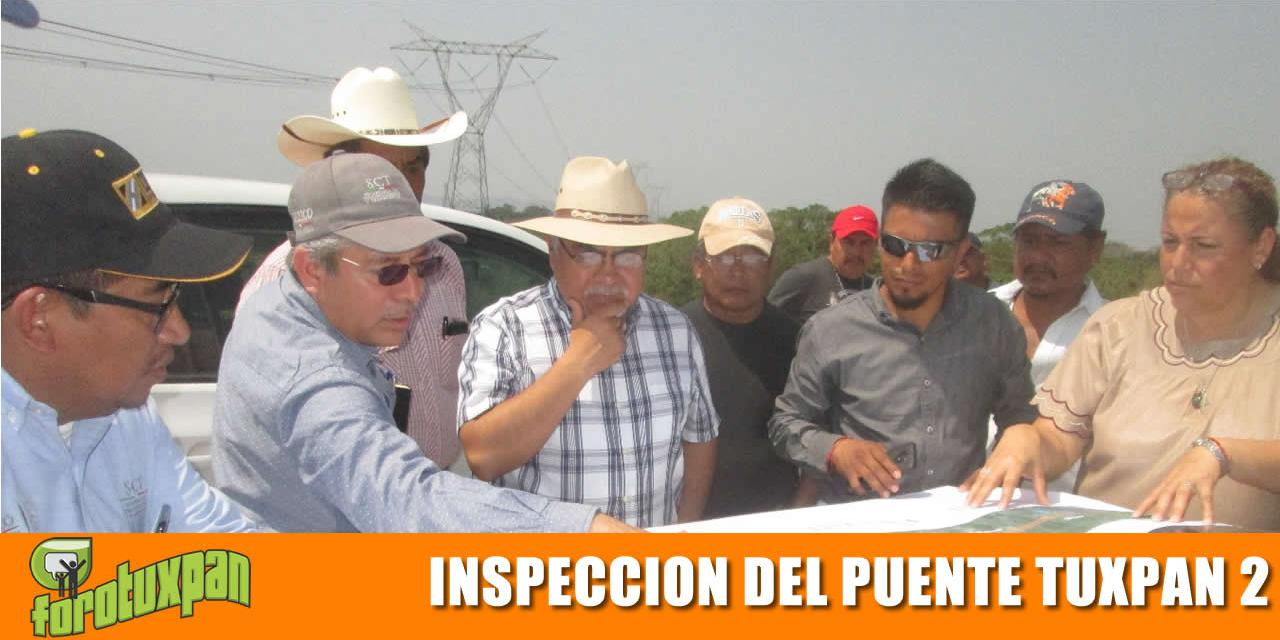 SE INSPECCIONA LA CONSTRUCCIÓN DEL PUENTE TUXPAN 2