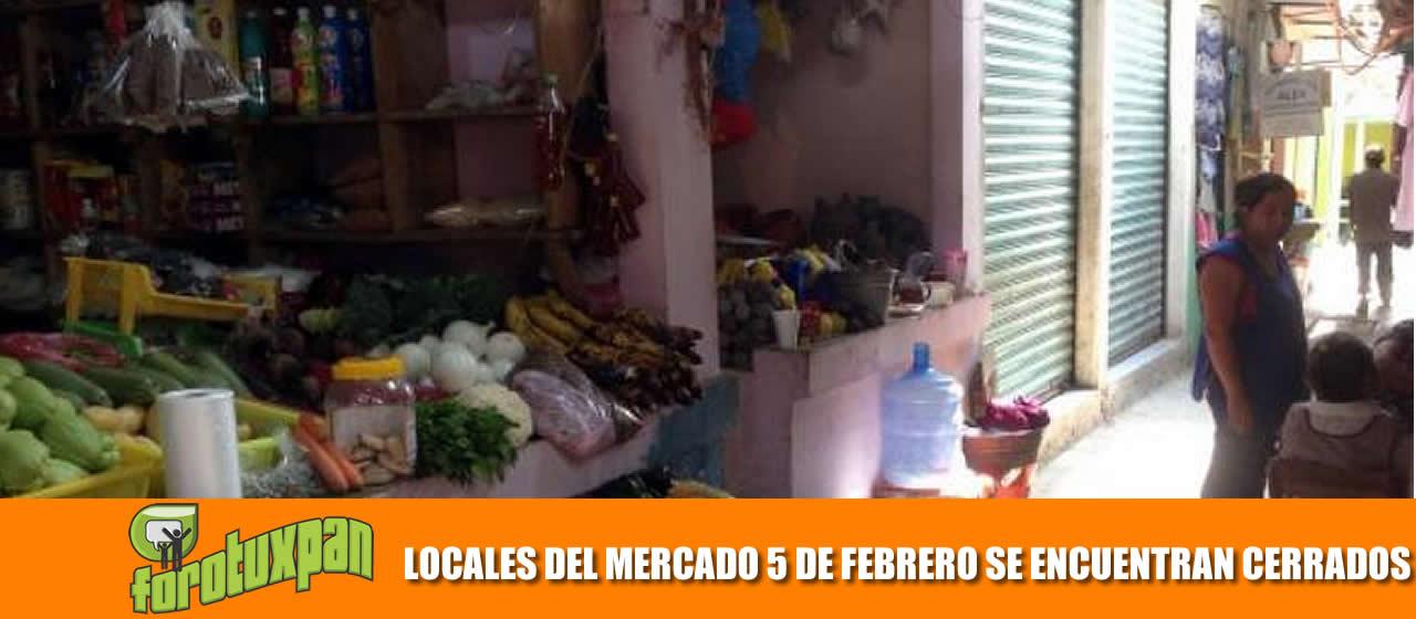 LOCALES SE ENCUENTRAN CERRADOS
