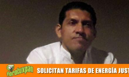 SOLICITAN TARIFAS DE ENERGÍA JUSTAS
