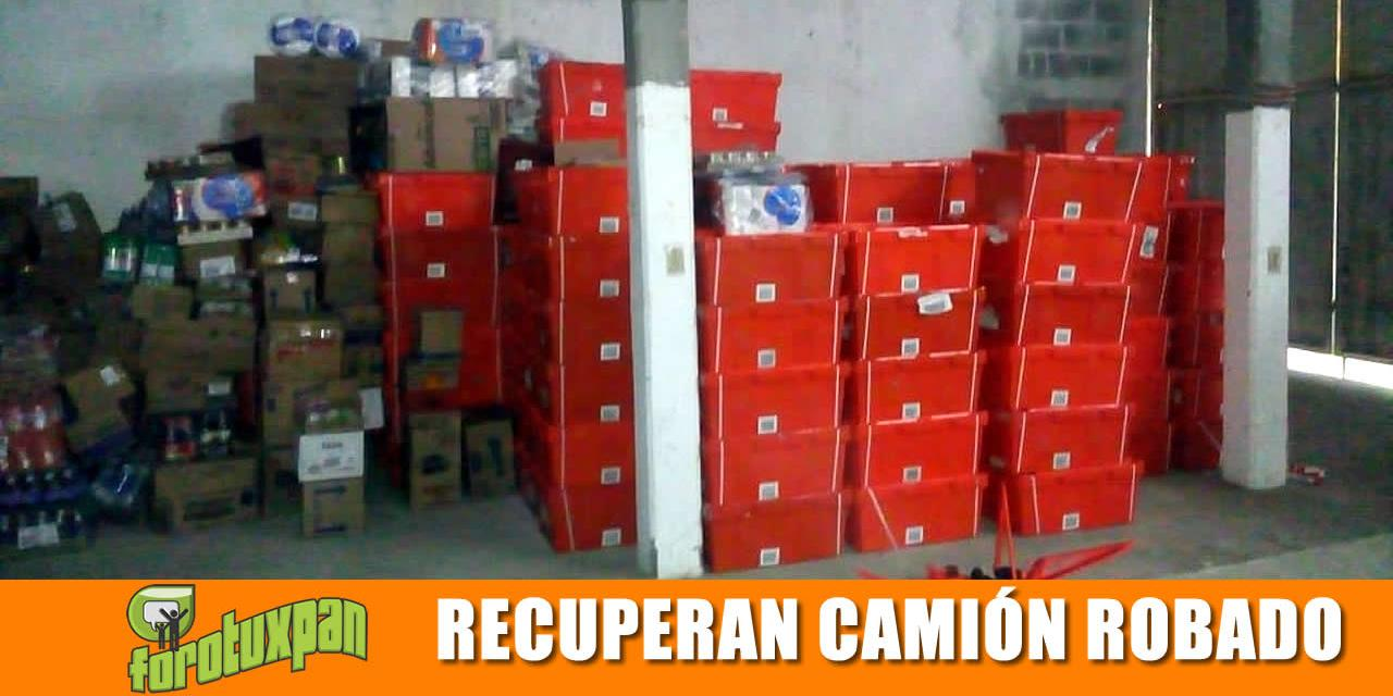RECUPERAN TRACTO CAMIÓN DE FARMACIAS GUADALAJARA