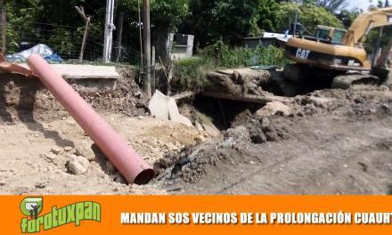 MANDAN S.O.S VECINOS DE LA PROLONGACIÓN CUAUHTÉMOC