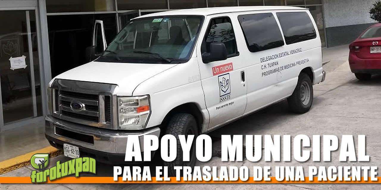APOYO MUNICIPAL PARA EL ISSSTE