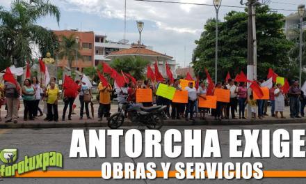 Antorcha Campesina exige Obras y Servicios para Veracruz