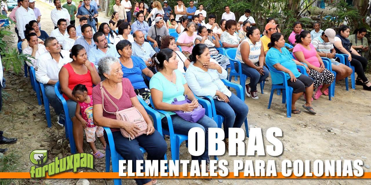 OBRAS ELEMENTALES PARA COLONIAS
