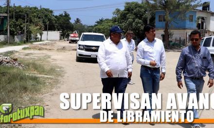 SUPERVISAN AVANCE DE LIBRAMIENTO