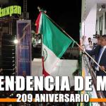 209 Aniversario de la Independencia de México
