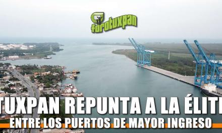 Tuxpan repunta a la élite entre los puertos de mayor ingreso aduanal en México