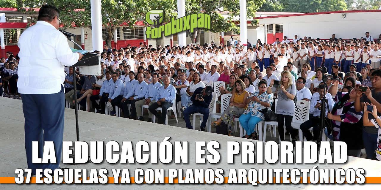 La educación es prioridad