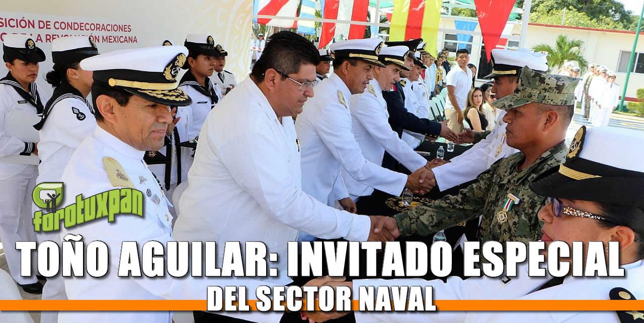 Toño Aguilar: Invitado especial del Sector Naval