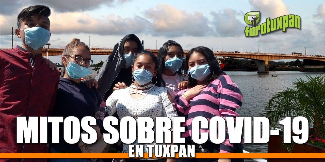Mitos sobre COVID-19 en Tuxpan