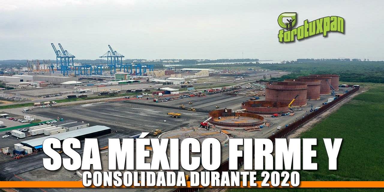 SSA MÉXICO FIRME Y CONSOLIDADA DURANTE 2020