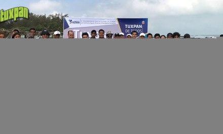 Tuxpan con playas limpias y bien conservadas: Toño Aguilar