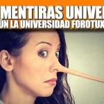 LAS 4O MENTIRAS UNIVERSALES