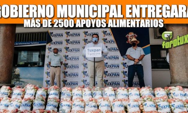 GOBIERNO MUNICIPAL ENTREGARÁ MÁS DE 2,500 APOYOS ALIMENTARIOS A FAMILIAS VULNERABLES